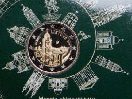 2 eurų proginė moneta, skirta Vilniui