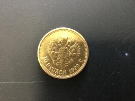 Parduodu auksines monetas