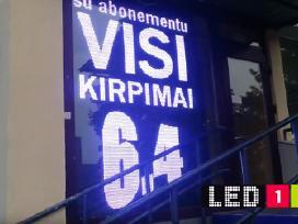 Reklaminė Led švieslentė