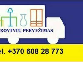 Krovinių pervežimas-perkraustimo paslaugos