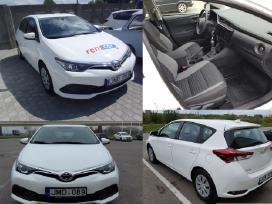 Automobilio nuoma Toyota Auris Vilnius