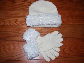 Naujas kepurės ir pirštinių komplektas