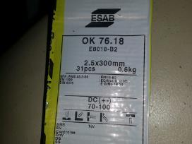 Esab ok 76.18 elektrodai