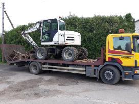 Tralas, traktoriu pervezimas,kroviniu gabenimas.