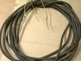 Keturiu gyslu kabelis 4x6 mm²