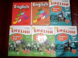 Anglų kalbos vadovėliai (Vereshchagina)