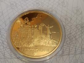 Kryžių Kalnas - Medalis dengtas auksu