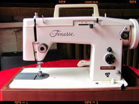 _Finesse Lucznik_elektrinė siuvimo mašina.