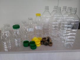 Nauji Pet buteliukai 300 ml, 500 ml, 1000 ml