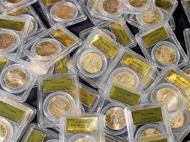 Auksinių,sidabrinių monetų supirkimas.