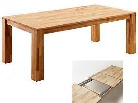 Natūralaus medžio masyvo stalas