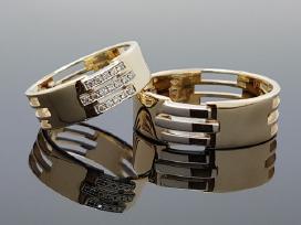 Vestuviniai žiedai. Individuali gamyba-pardavimas - nuotraukos Nr. 3