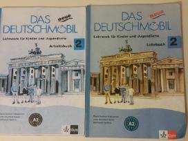 Vokiečių kalbos vadovėliai Das Neue Deutschmobil 2