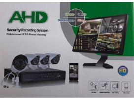 Ip Stebėjimo vaizdo kameros Ahd 5G 4vnt su įrašymu