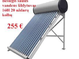 Saulės kolektorių išpardavimas
