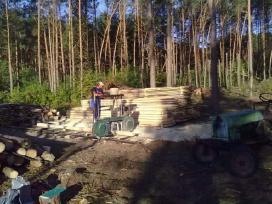 Pjaunam medieną jūsų kieme