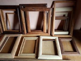 Parduodami mediniai rėmeliai