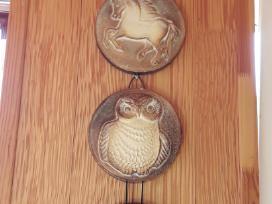 Pakabinami keramikiniai paveikslai