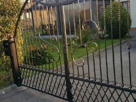 Tvoros-vartai.suvirinimas.aliuminio virinimas