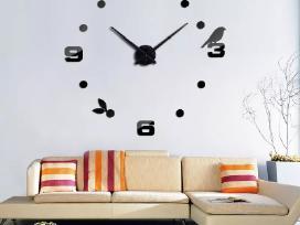 3D sieniniai laikrodžiai - nuotraukos Nr. 2
