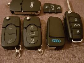 Audi raktas A1 A2 A3 A4 A5 A6 A7 A8 TT Q7 korpusai