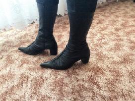 Naturalios odos rudeniniai batai
