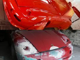 Automobilių, motociklų paruošimas ir dažymas