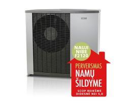 Švediškas šilumos siurblys Nibe F2120/8 +Smo40