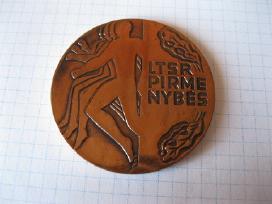 Lietuvos sporto medalis ....zr. foto....originalas