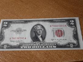 Parduodu Unc 2 dolerius 1953,1963,1976,2009,2013 m