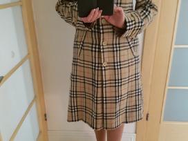 Burberry stiliaus paltas