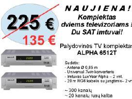 Palydovinės TV komplektai - nuotraukos Nr. 4
