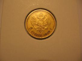 5 Rubliai 1900 Fz 205eur