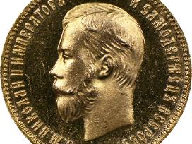 10 Rublių 1898 Ag 390eur