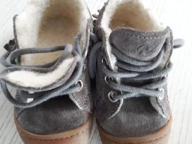 Naturino batukai odiniai su vilna