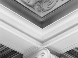 Dekoravimo juostos interjerui. klasikinis dekoras