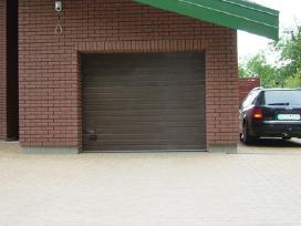 Garažinių vartų, automatikų, domofonų montavimas