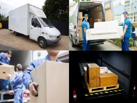 Perkraustymo paslaugos - krovinių pervežimas 24h