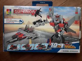 Super heroes superior kostruktorius 10in1
