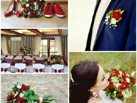 Gėlių puokštės, nuotakos/vyro puokš - nuotraukos Nr. 3