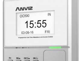 Naujas! Laiko apskaitos terminalas Anviz Oc500