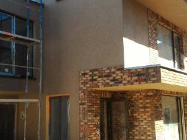 Statybos darbai, stogo darbams Akcija
