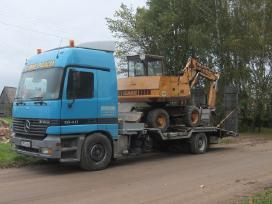 Tralas Platforma, Krovinių - Traktorių vežimas 17t - nuotraukos Nr. 13