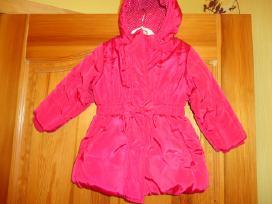 Raudona striukytė 1,5-2,5 metukų mergytei