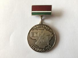 Ltsr medalis 1945-1965m sidabras