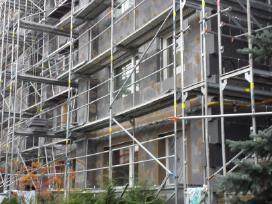 Fasadų šiltinimas Renovacija Pastolių nuoma - nuotraukos Nr. 12