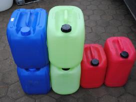 Kanistrai 20, 25 ir 30 litrų