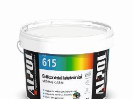 Vidaus dažai sienų lubų dažymui gera kaina