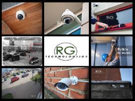 Vaizdo kamerų, stebėjimo sistemų įrengimas!