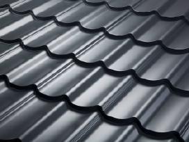 Plieninės stogų dangos - nuo 5.79 Eur/m2